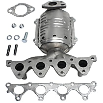Front Catalytic Converter with Integrated Exhaust Manifold For Models with 1.6L Eng 46-State Legal (Cannot ship to CA, CO, NY or ME)