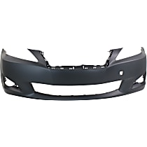 Front Bumper Cover, Primed - Exc. C Model, w/o Pre-Collision Sys, w/o Headlamp Washer Holes