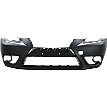 Front Bumper Cover, Primed - Exc F Sport Pkg, Exc. C Model, w/ HL Washer Holes, w/ Parking Aid Snsr Holes, w/ FL Holes