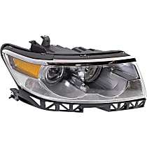 Passenger Side Halogen Headlight Assembly