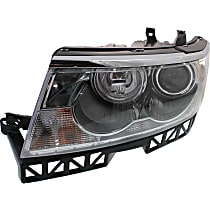 Driver Side Halogen Headlight Assembly