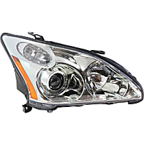 Passenger Side HID/Xenon Headlight, Without bulb(s) - 2004-2006 Lexus RX330, Japan Built Model, w/o Adaptive Front Lighting System (AFS)