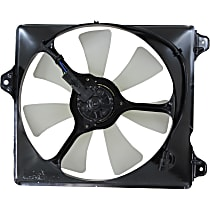 OE Replacement A/C Condenser Fan - Fits 3.0L V6, Passenger Side