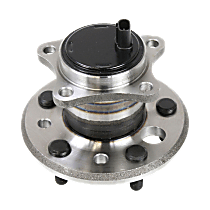 Rear, Driver Side Wheel Hub With Ball Bearing - Sold individually