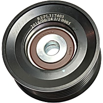 Replacement REPL317403 Accessory Belt Idler Pulley - Direct Fit, Sold individually