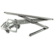 Front, Passenger Side Power Window Regulator, Without Motor