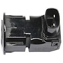 Replacement Parking Assist Sensor - Direct Fit, Oval Shape Connector, Sold Individually