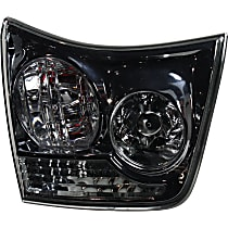 Driver Side, Inner Tail Light, With bulb(s) - Clear Lens