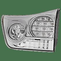 Passenger Side, Inner Tail Light, With bulb(s) - Clear Lens