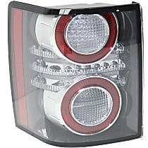 Driver Side Tail Light, With bulb(s) - Except Sport Model