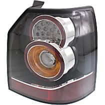 Passenger Side Tail Light, With bulb(s) - Clear Lens, Sedan