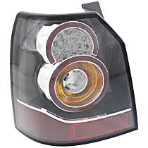 Driver Side Tail Light, With bulb(s) - Clear Lens, Sedan
