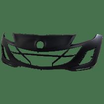 Front Bumper Cover, Primed, Sedan - 2.L Eng. w/o Parking Aid Snsr Holes, w/ FL Holes, w/ Emblem Provision, CAPA CERTIFIED