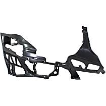 Front, Passenger Side Bumper Bracket - Bumper Support, Outer Frame, Sedan/Wagon