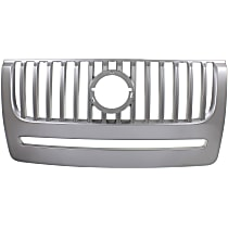 Grille Assembly - Chrome Shell and Insert, without Voga Package, without Appearance Package