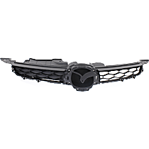 Grille Assembly - Primed Black Shell and Insert, 2.5 Liter Engine