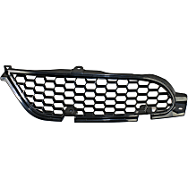 Grille Assembly - Painted Black Shell and Insert, Driver Side