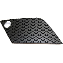 Grille Cover - Textured Black, Driver Side