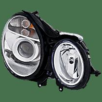 Sedan/Wagon, Passenger Side Halogen Headlight, With bulb(s) - To 6-30-06