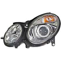 Sedan/Wagon, Driver Side Halogen Headlight, With bulb(s) - To 6-30-06