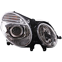 Passenger Side Halogen Headlight, With bulb(s) - From 6-30-06