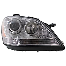 "Passenger Side Halogen Headlight, With bulb(s) - Vehicles Without Special Model ""Grand Edition"" - Up to Chassis No. A 453758"
