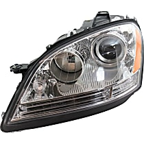 "Driver Side Halogen Headlight, With bulb(s) - Vehicles Without Special Model ""Grand Edition"" - Up to Chassis No. A 453758"