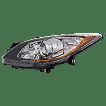 Hatchback/Sedan, Driver Side Halogen Headlight, Without bulb(s) - 5 Speed Trans