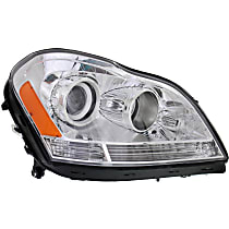 Headlight - Passenger Side, With Bulb(s)