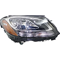 Passenger Side Headlight, With bulb(s) - (15-16 Sedan) / (17-17 Coupe), CAPA CERTIFIED