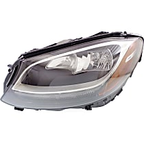 Driver Side Headlight, With bulb(s) - (15-16 Sedan) / (17 Coupe)