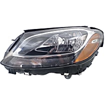 Driver Side Headlight, With bulb(s) - (15-16 Sedan) / (17 Coupe), CAPA CERTIFIED