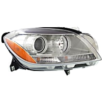 Headlight - Passenger Side, With Bulb(s), CAPA Certified