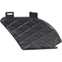 Passenger Side Fog Light Cover, (W210 Chassis), Models w/o AMG Styling Package