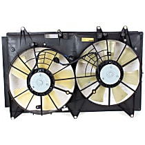 OE Replacement Radiator Fan - w/o Controller