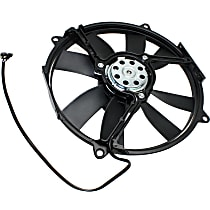 OE Replacement A/C Condenser Fan & Motor Assembly, Passenger Side, Excluded Fan Shroud