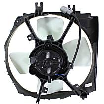 OE Replacement Radiator Fan - Fits 1.6L/1.8L/2.0L, Non-Turbo, Driver Side