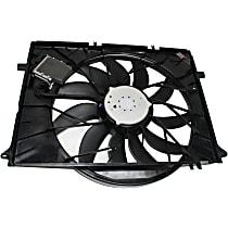 OE Replacement Radiator Fan Shroud Assembly