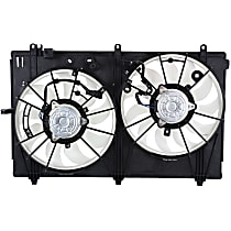 OE Replacement Radiator Fan - Fits 2.4L Non-Turbo or 3.0L