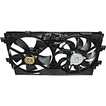 OE Replacement Radiator Fan - Fits 2.0L, From 01/13