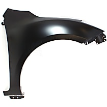 Fender - Front, Passenger Side, without Turn Signal Light Hole, Hatchback (with Stone Guard Provision)/Sedan
