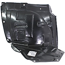 Fender Liner - Front, Passenger Side, Front Section