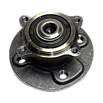 Rear Wheel Bearing and Hub Assembly, Driver or Passenger Side For FWD Models with 4 Wheel Bolt Stud