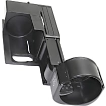 Replacement REPM509102 Cup Holder - Black, Plastic, Direct Fit, Sold individually Front