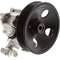 Power Steering Pump With Pulley For Models Without Self Leveling Device and or Anti Lock Differential