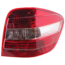 Passenger Side Tail Light, With bulb(s) - Amber, Clear & Red Lens, w/o AMG Styling and Sport Pkg., (164) Chassis