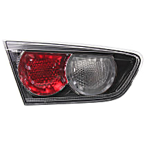 Driver Side, Inner Tail Light, With bulb(s) - Clear & Red Lens, w/ Turbo, Exc. Sportback Models