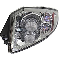 Passenger Side Tail Light, With bulb(s) - Clear Lens