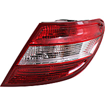 Passenger Side Tail Light, Assembly, Without LED Turn Signal, Without Curve Lighting System