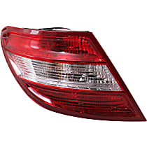 Driver Side Tail Light, Assembly, Without LED Turn Signal, Without Curve Lighting System
